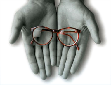 donar gafas