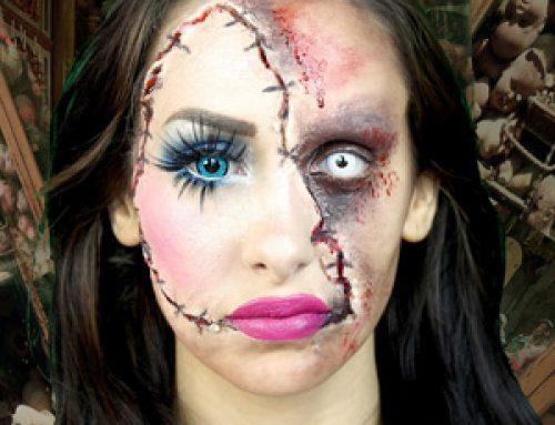 Halloween, cuidado con las lentillas y el maquillaje de ojos
