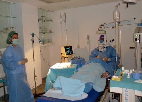 Bloque Opératoire de Chirurgie Cataractes Malaga