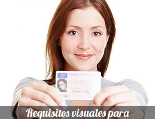 Requisitos visuales para renovar el carnet de conducir