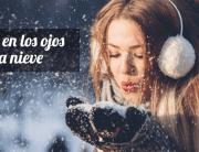 Quemaduras en los ojos por la nieve