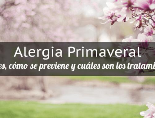 Alergia primaveral y picor de ojos