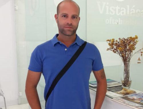 Opinión de Antonio operado de miopía y astigmatismo en Granada