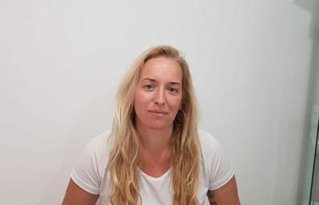 Ana Belén, operada con Femto Xtra de miopía y astigmatismo