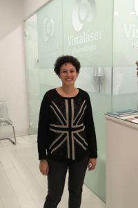 Opinión de Lidia, operada de miopía y astigmatismo en Granada