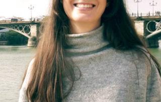 Marta, operada con Lente ICL